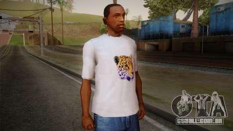 Leopard Shirt White para GTA San Andreas