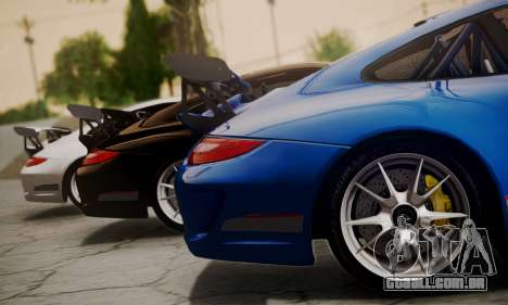 Porsche 911 GT3 RS4.0 2011 para GTA San Andreas vista traseira