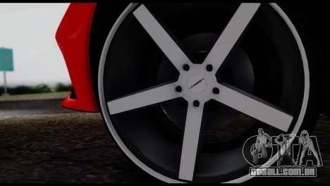 Ferrari F12 Berlinetta para GTA San Andreas vista direita