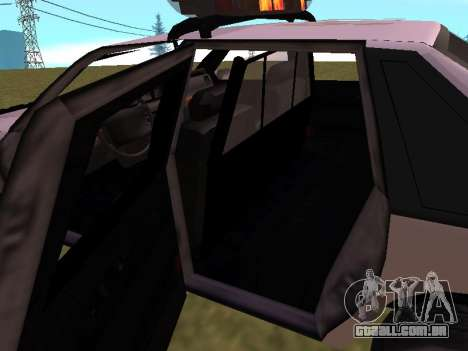 Police Original Cruiser v.4 para o motor de GTA San Andreas