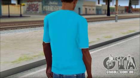 Go hard or Go home Shirt para GTA San Andreas segunda tela