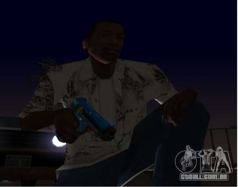 D.Eagle Rainbow Dash para GTA San Andreas segunda tela