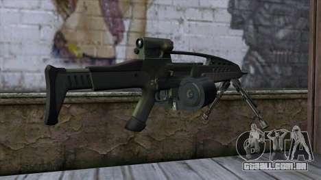 XM8 LMG Olive para GTA San Andreas segunda tela