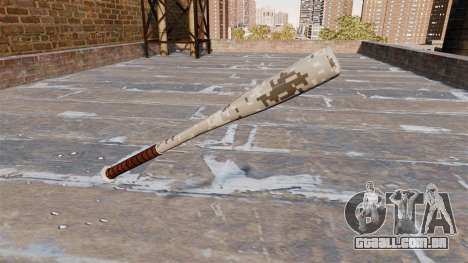 Taco de beisebol Camo P001 para GTA 4 segundo screenshot