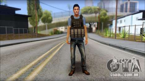 Skin Civil v1 para GTA San Andreas segunda tela