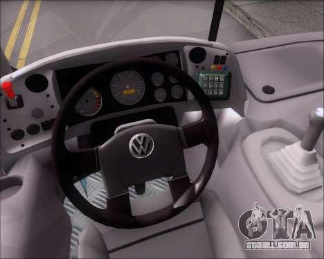Marcopolo Torino G7 2007 - Volksbus 17-230 EOD para vista lateral GTA San Andreas