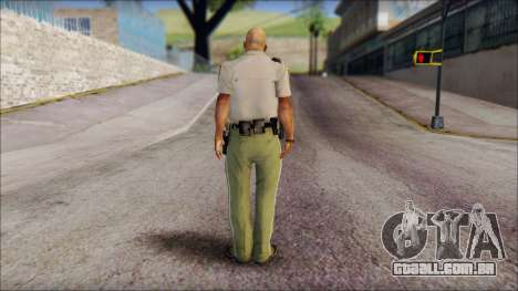 James Wheeler from Silent Hill Homecoming para GTA San Andreas segunda tela