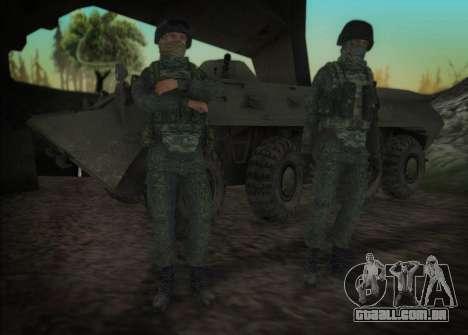 Ataque das forças especiais do interior. para GTA San Andreas por diante tela