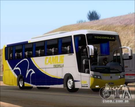 Busscar Vissta Buss LO Mercedes Benz 0-500RS para GTA San Andreas esquerda vista