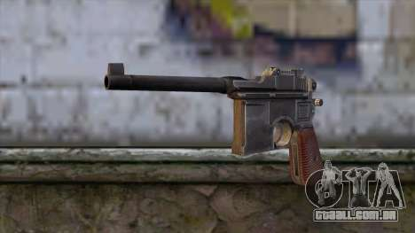 Mauser C-96 para GTA San Andreas