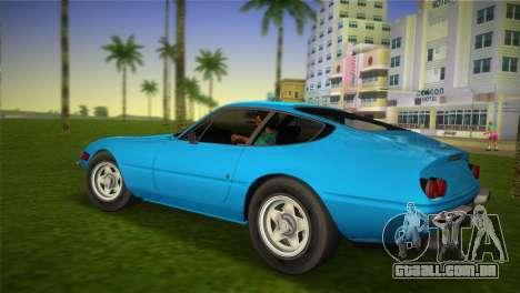 Ferrari 365 GTB para GTA Vice City deixou vista
