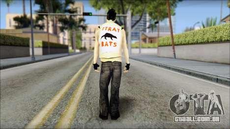 Joel from Good Charlotte para GTA San Andreas segunda tela