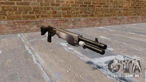 Ружье Franchi SPAS-12 Chrome para GTA 4