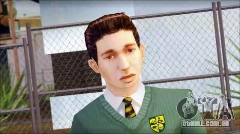 Constantinos from Bully Scholarship Edition para GTA San Andreas