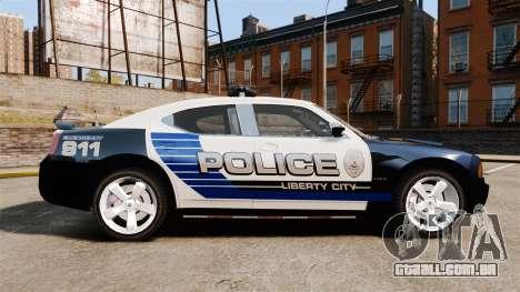Dodge Charger SRT8 2010 [ELS] para GTA 4 esquerda vista