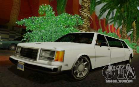 Washington Limousine para GTA San Andreas