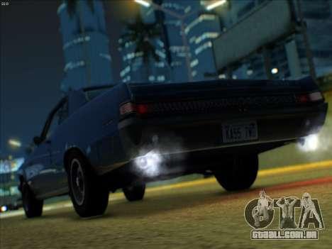 Lime ENB v1.1 para GTA San Andreas sexta tela