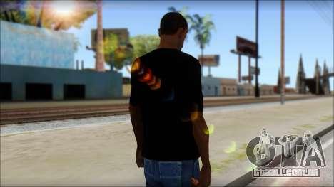 Evil T-Shirt para GTA San Andreas segunda tela