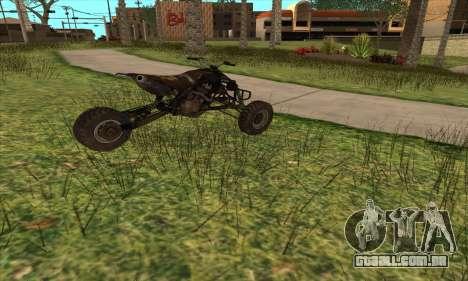 Trike from Ravaged para GTA San Andreas esquerda vista