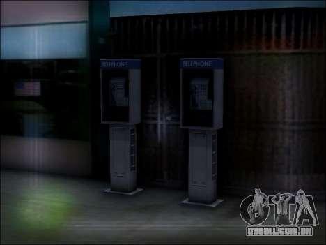 Rua telefone para GTA San Andreas sexta tela