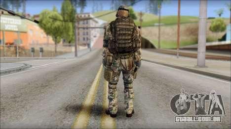 Nima GROM from Soldier Front 2 para GTA San Andreas segunda tela