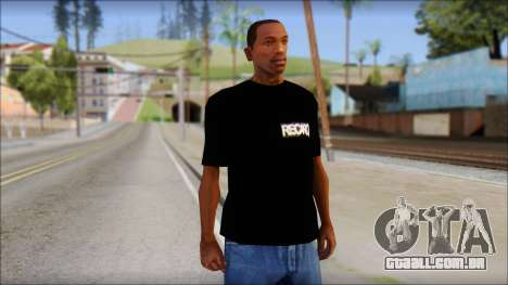 Recaro T-Shirt para GTA San Andreas