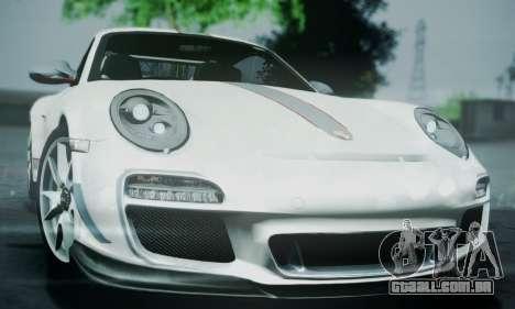 Porsche 911 GT3 RS4.0 2011 para vista lateral GTA San Andreas