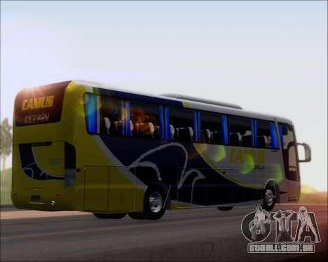 Busscar Vissta Buss LO Mercedes Benz 0-500RS para GTA San Andreas traseira esquerda vista
