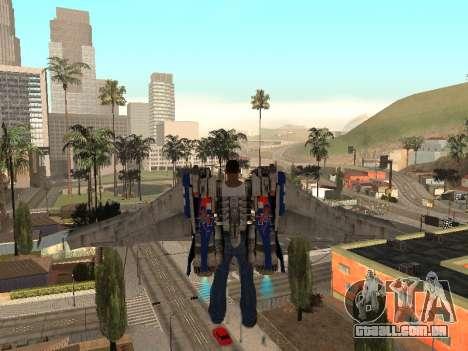 Optimus Jetpack para GTA San Andreas