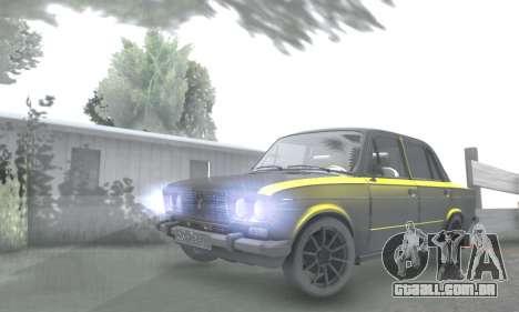 VAZ 2106 para GTA San Andreas vista inferior