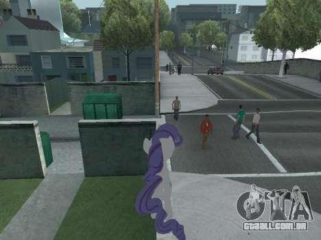 Rarity para GTA San Andreas por diante tela