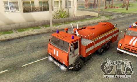 KamAZ 53212 AP-5 [FIV] para GTA San Andreas traseira esquerda vista