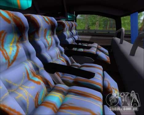 Busscar Jum Buss 400 Volvo B10R Pullman Del Sur para GTA San Andreas vista interior