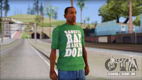 Ice Cube T-Shirt para GTA San Andreas