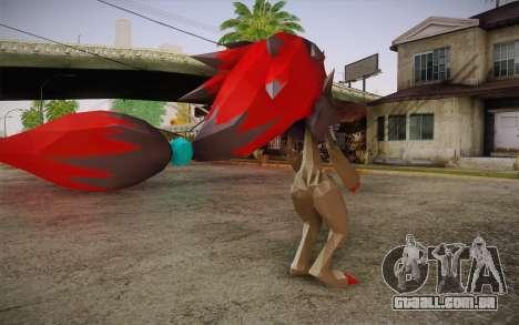 Zoroark from Pokemon para GTA San Andreas segunda tela