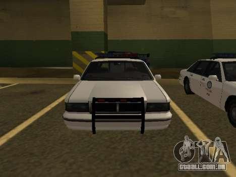 Police Original Cruiser v.4 para GTA San Andreas vista direita