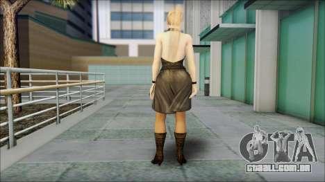 Sarah from Dead or Alive 5 v3 para GTA San Andreas segunda tela