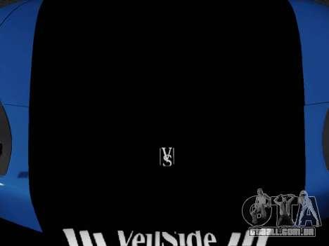 Honda NSX VeilSide para GTA San Andreas traseira esquerda vista