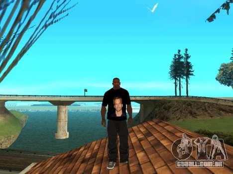 T-Shirt Paul Walker para GTA San Andreas