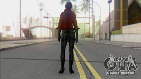 Ada Wong v1 para GTA San Andreas segunda tela