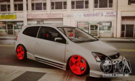Honda Civic TypeR para GTA San Andreas