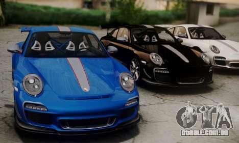 Porsche 911 GT3 RS4.0 2011 para GTA San Andreas vista direita