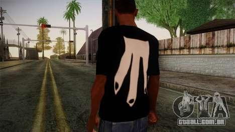 Shirt Madafaka para GTA San Andreas segunda tela
