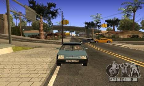 ZAZ Tavria para GTA San Andreas vista direita