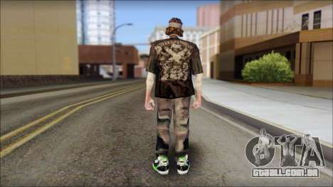 The Truth Skin para GTA San Andreas segunda tela