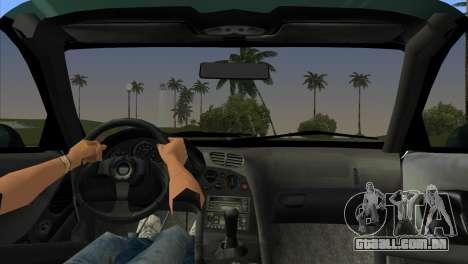 Mazda RX-7 Tuning para GTA Vice City vista traseira esquerda