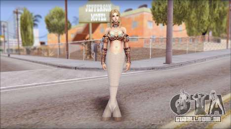 Mermaid Salmon Tail para GTA San Andreas