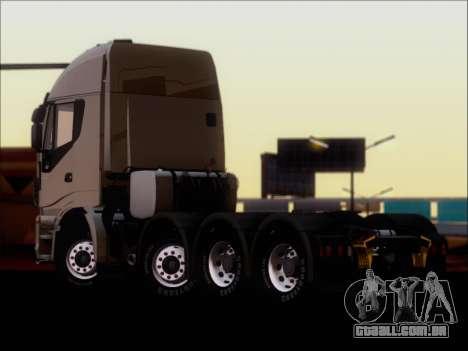 Iveco Stralis HiWay 560 E6 8x4 para GTA San Andreas vista direita