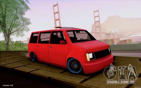 Moonbeam Stance para GTA San Andreas