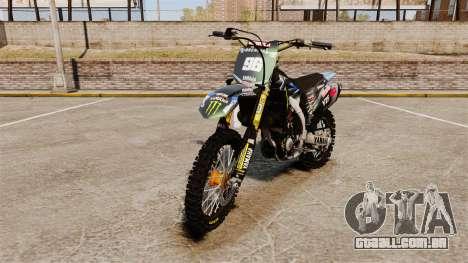 Yamaha YZF-450 v1.3 para GTA 4